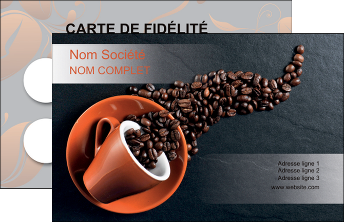 Imprimerie Carte De Visite Bar Et Cafe Pub Torrefacteur MLGI31991
