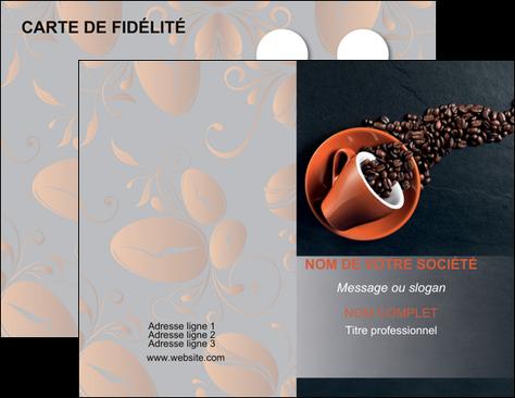 personnaliser modele de carte de visite bar et cafe et pub cafe bar torrefacteur MLGI31993