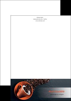 exemple tete de lettre bar et cafe et pub cafe bar torrefacteur MLGI31995