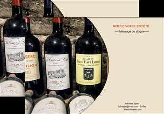 modele affiche vin commerce et producteur caviste vin vignoble MLIG31999