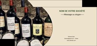 personnaliser modele de flyers vin commerce et producteur caviste vin vignoble MLIG32009