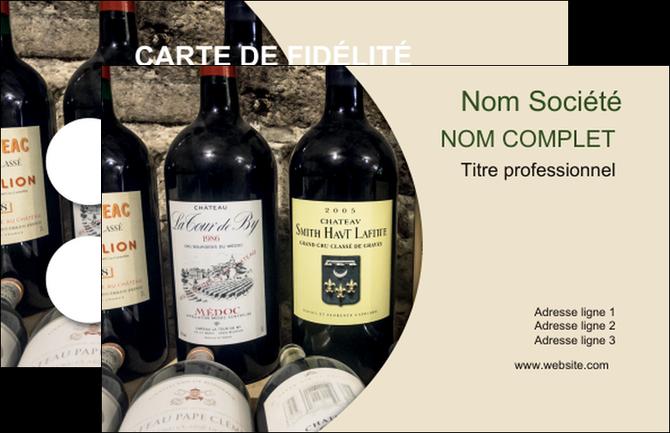 Cree Carte De Visite Vin Commerce Et Producteur Caviste Vignoble MLGI32019
