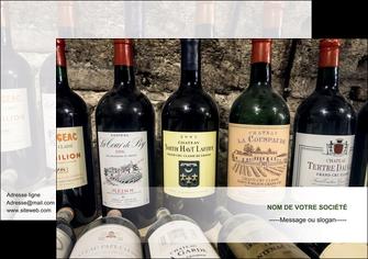 creation graphique en ligne affiche vin commerce et producteur caviste vin vignoble MLIG32065