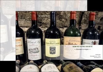 personnaliser maquette pochette a rabat vin commerce et producteur caviste vin vignoble MLIG32079