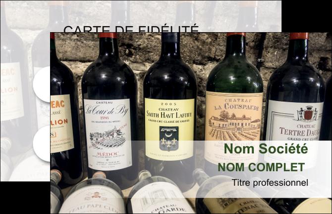 faire carte de visite vin commerce et producteur caviste vin vignoble MLIG32083