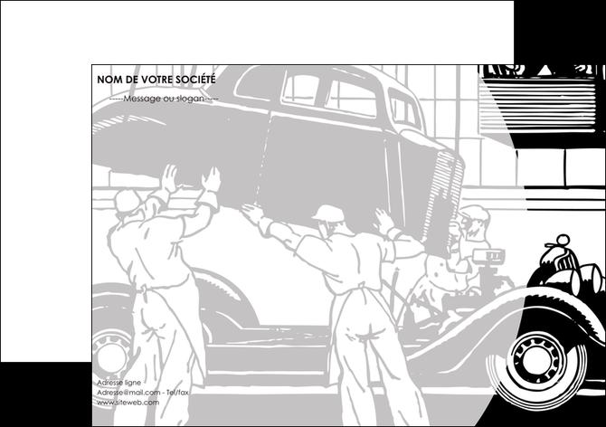 Flyers mod le et exemple garage concessionnaire automobile r paration de voiture - Garage pour reparation de voiture ...