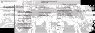 maquette en ligne a personnaliser depliant 4 volets  8 pages  garage concessionnaire automobile reparation de voiture MIS32147