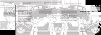 imprimer depliant 4 volets  8 pages  garage concessionnaire automobile reparation de voiture MIS32149