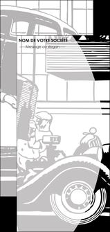 modele en ligne flyers garage concessionnaire automobile reparation de voiture MIS32153
