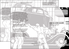 maquette en ligne a personnaliser depliant 3 volets  6 pages  garage concessionnaire automobile reparation de voiture MIS32157