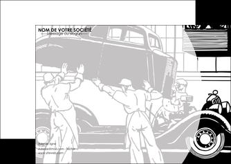 modele en ligne flyers garage concessionnaire automobile reparation de voiture MIS32159