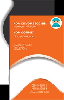 personnaliser modele de carte de visite infirmier infirmiere infirmier infirmerie blouse MLGI32313