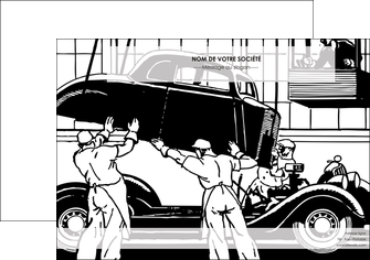 modele en ligne affiche garage garagiste atelier de garagiste MIS32325