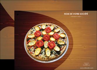 maquette en ligne a personnaliser affiche pizzeria et restaurant italien pizza pizzeria zone tampon MLGI32369