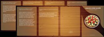 creer modele en ligne depliant 4 volets  8 pages  pizzeria et restaurant italien pizza pizzeria zone tampon MLGI32377