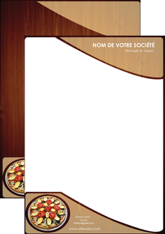 modele tete de lettre pizzeria et restaurant italien pizza pizzeria zone tampon MLGI32387