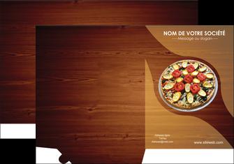 creation graphique en ligne pochette a rabat pizzeria et restaurant italien pizza pizzeria zone tampon MLGI32391