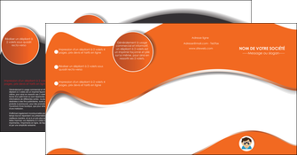 modele en ligne depliant 4 volets  8 pages  infirmier infirmiere opticien lunetier optometristes MLGI32483
