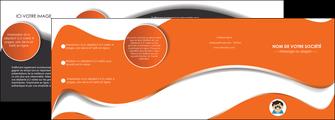 imprimerie depliant 4 volets  8 pages  infirmier infirmiere opticien lunetier optometristes MLIG32491