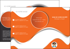creer modele en ligne depliant 3 volets  6 pages  infirmier infirmiere opticien lunetier optometristes MLGI32501