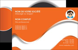 maquette en ligne a personnaliser carte de visite infirmier infirmiere opticien lunetier optometristes MLIG32513