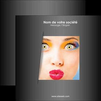 impression flyers centre esthetique  maquillage beaute couleur MLGI32527
