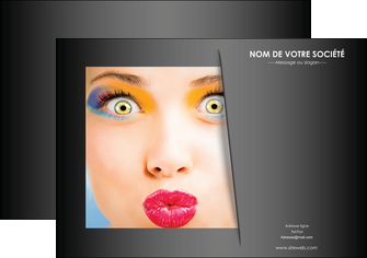 impression affiche centre esthetique  maquillage beaute couleur MLGI32537