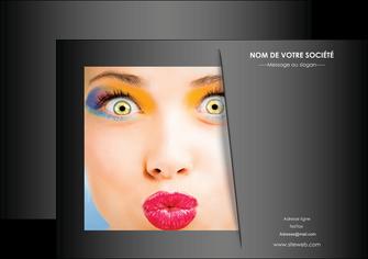 imprimer flyers centre esthetique  maquillage beaute couleur MLGI32549