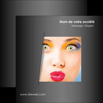 creer modele en ligne flyers centre esthetique  maquillage beaute couleur MLGI32557