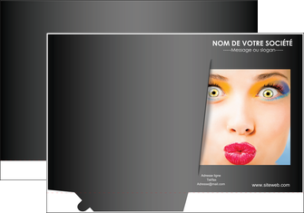 modele pochette a rabat centre esthetique  maquillage beaute couleur MLGI32559