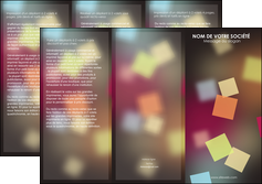 maquette en ligne a personnaliser depliant 3 volets  6 pages  abstrait design texture MLIGCH32625