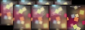 modele depliant 4 volets  8 pages  abstrait design texture MIF32637