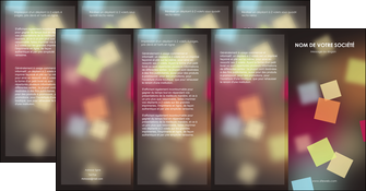 creer modele en ligne depliant 4 volets  8 pages  abstrait design texture MLIGCH32641
