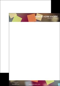 modele tete de lettre abstrait design texture MLIGCH32645