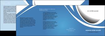 modele en ligne depliant 4 volets  8 pages  texture contexture structure MLIG32675