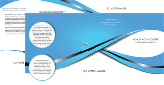 personnaliser maquette depliant 4 volets  8 pages  texture contexture structure MLGI32743