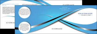 realiser depliant 4 volets  8 pages  texture contexture structure MLGI32747