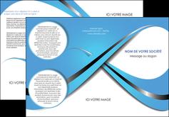 impression depliant 3 volets  6 pages  texture contexture structure MLGI32759