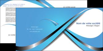 modele en ligne depliant 2 volets  4 pages  texture contexture structure MLGI32765