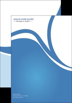 Commander Flyer  modèle graphique pour devis d'imprimeur Flyer A5 - Portrait (14,8x21 cm)
