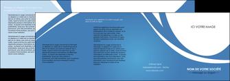 imprimerie depliant 4 volets  8 pages  texture contexture structure MIF32791