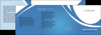 cree depliant 4 volets  8 pages  texture contexture structure MLGI32793