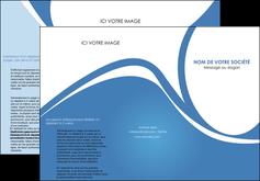 exemple depliant 3 volets  6 pages  texture contexture structure MLIG32803