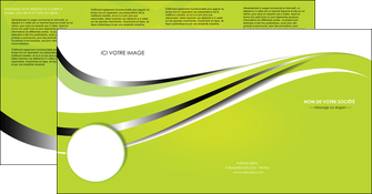 modele depliant 4 volets  8 pages  texture contexture structure MLIG32885