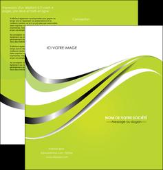 creer modele en ligne depliant 2 volets  4 pages  texture contexture structure MLIG32895
