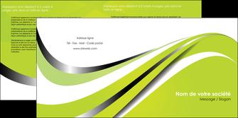 maquette en ligne a personnaliser depliant 2 volets  4 pages  texture contexture structure MLIG32907