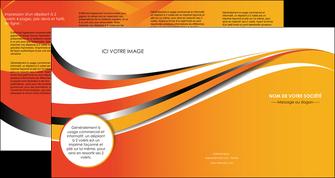 modele en ligne depliant 4 volets  8 pages  texture contexture structure MLIG32989
