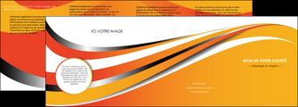 modele en ligne depliant 4 volets  8 pages  texture contexture structure MLGI32993
