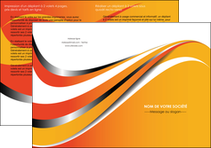 realiser depliant 2 volets  4 pages  texture contexture structure MLIG32995