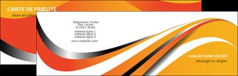 Impression cartes de visite aux coins arrondis vernis selectif  Carte commerciale de fidélité papier à prix discount et format Carte de visite Double - Paysage